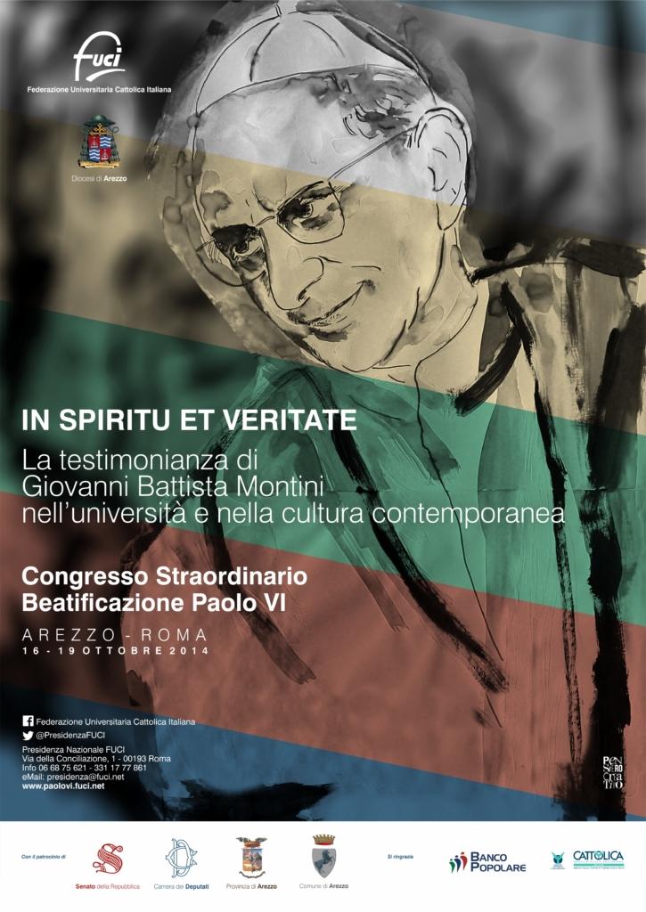 LOCANDINA  Beatificazione Paolo VI RGB