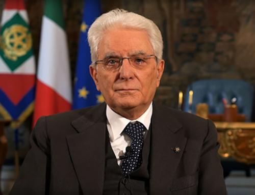 Messaggio del Presidente della Repubblica Mattarella per il nostro Congresso